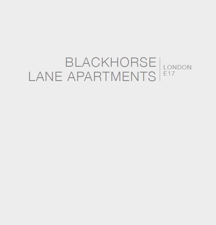 Blackhorse Lane Brochure